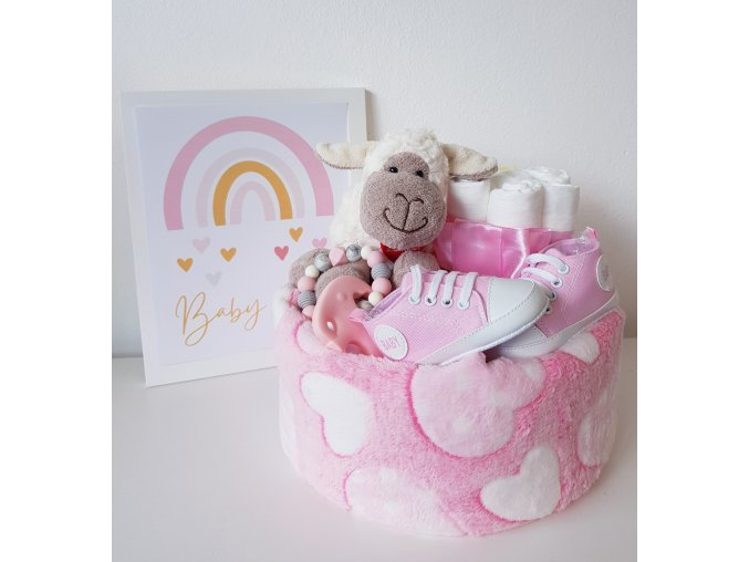 Plenkový dort  -  sweet PINK