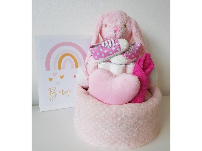 Plenkový dort - Zajíček BABY MIX