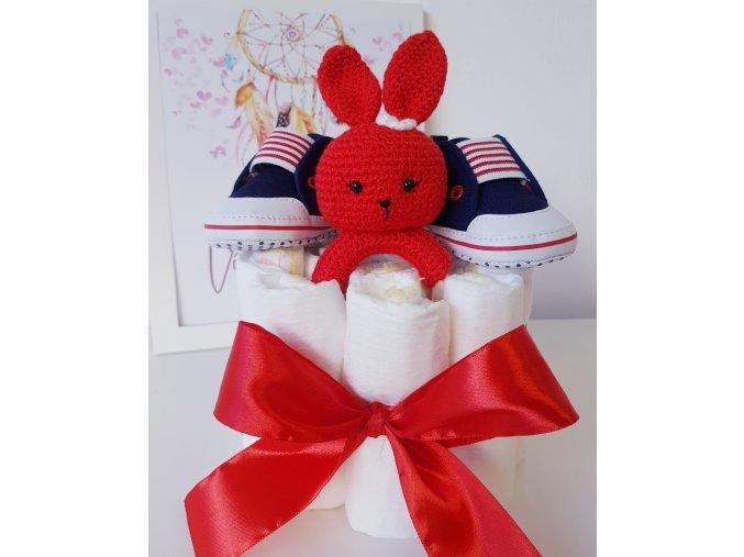 Mini plenkový dort - RED
