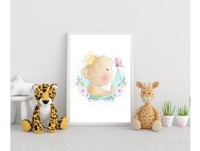 Plakát - medvídek baby