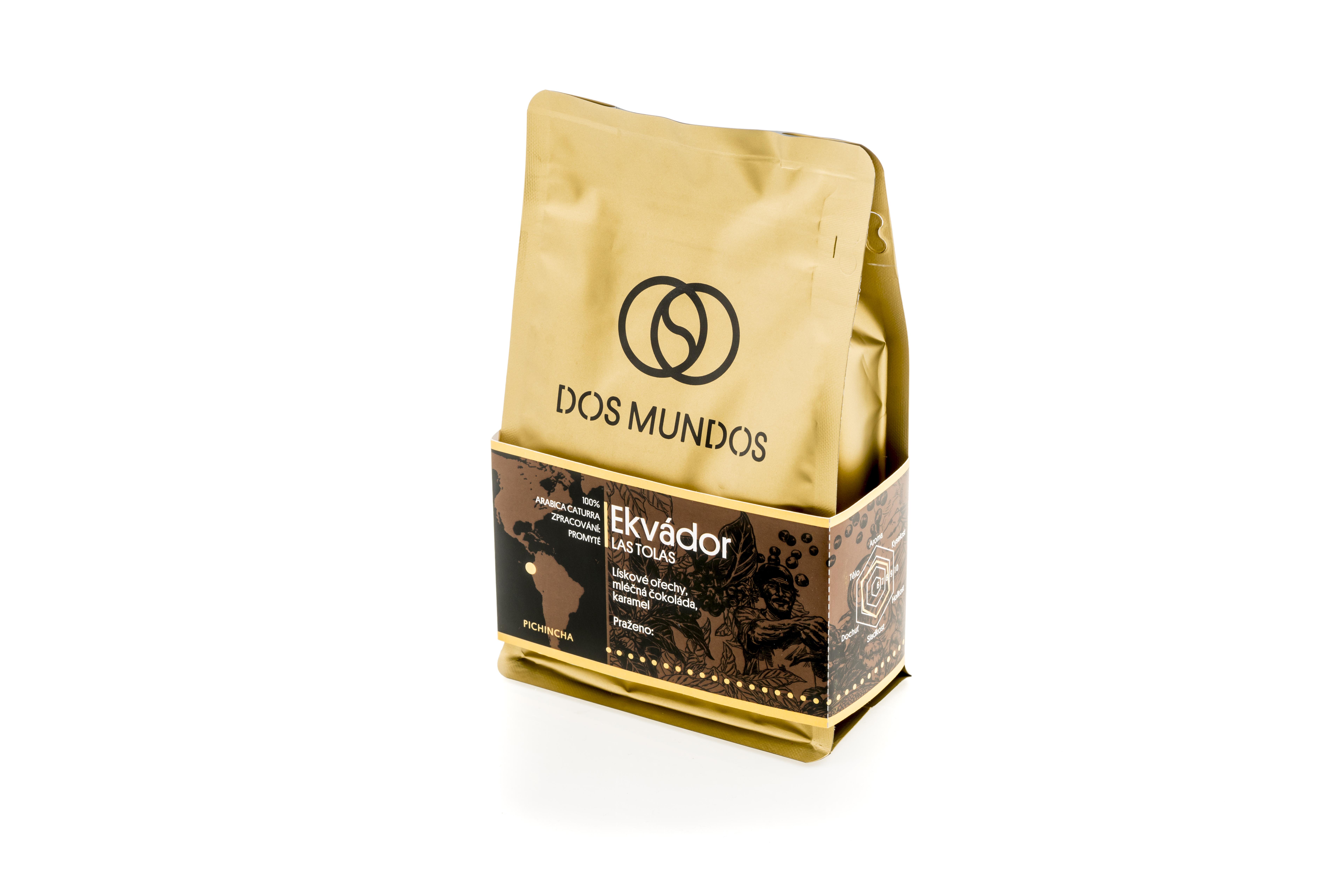Nové obaly našich káv