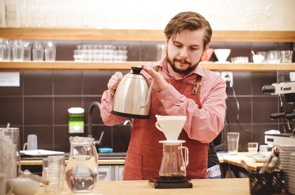 Na kávě s ... Michalem Malinou ze Schované kavárny