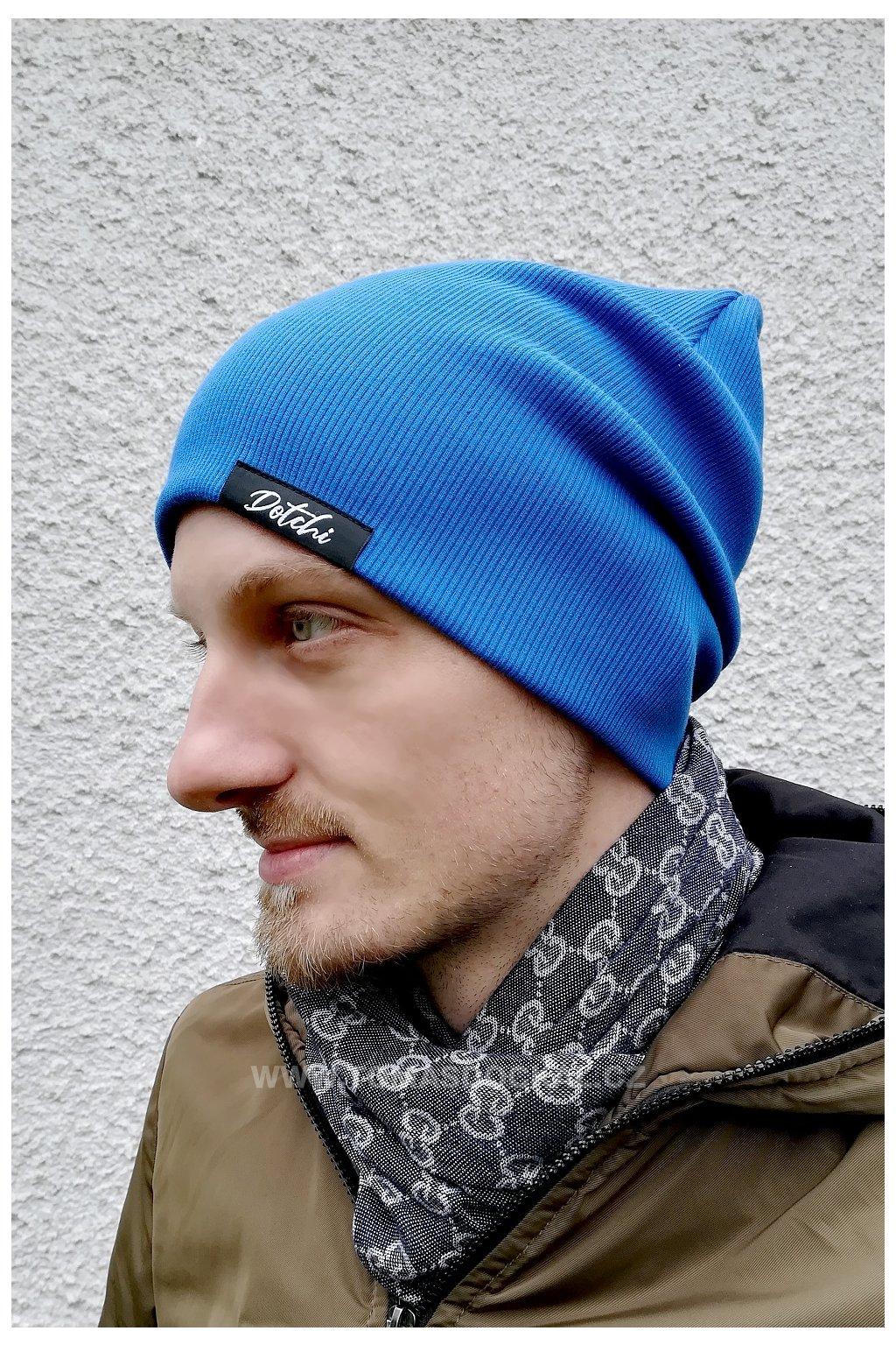Čepice Hat No.4 Modrá