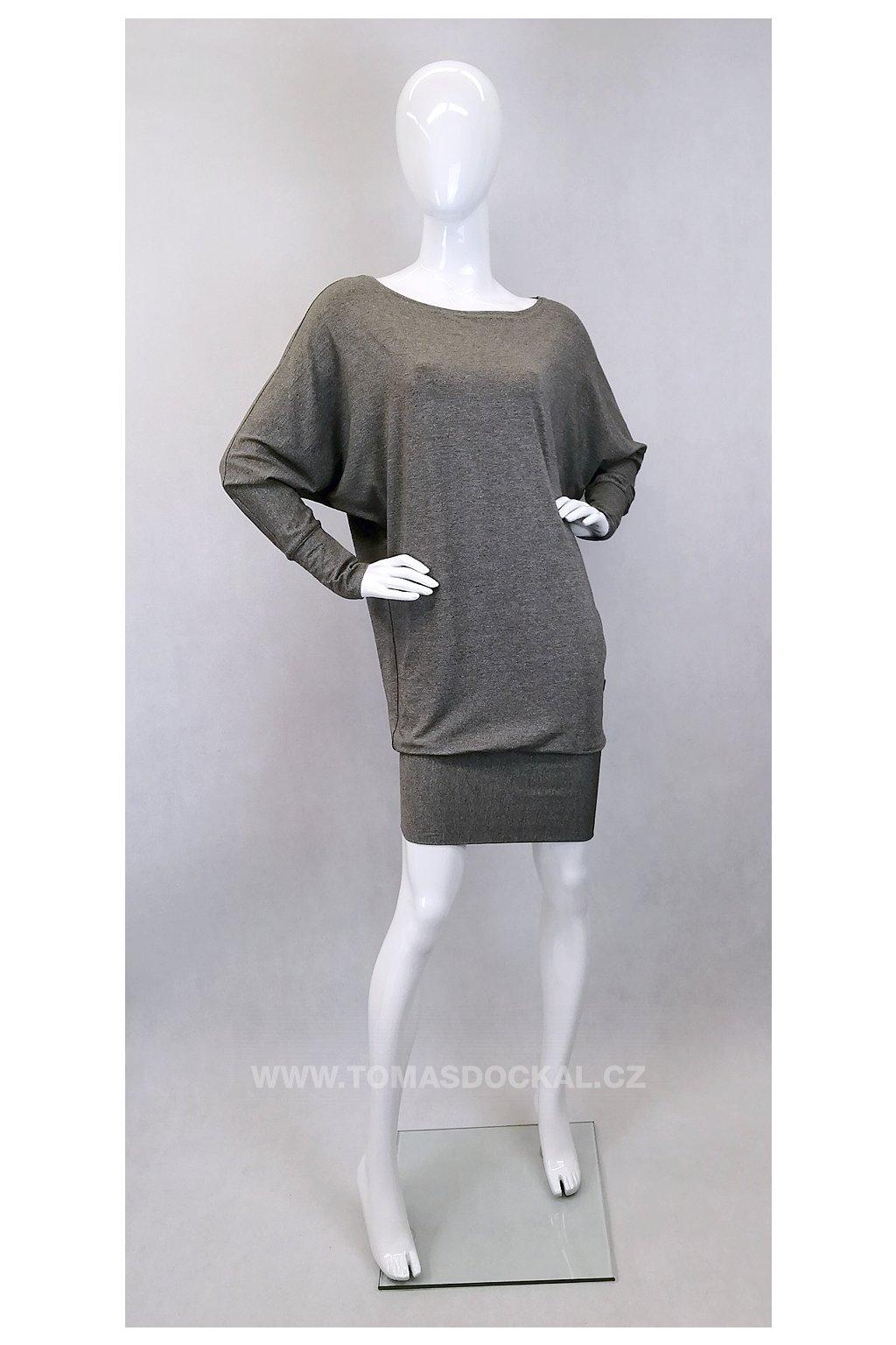 Šaty a tričko v jednom! UNI / šedé