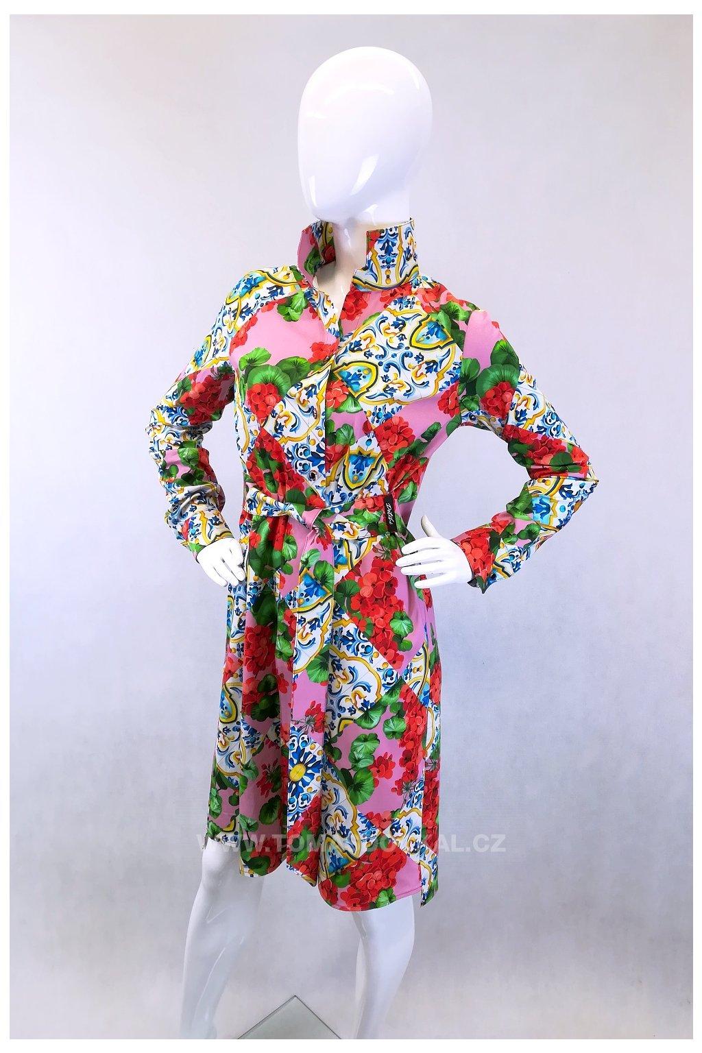 Košilové šaty Maroko