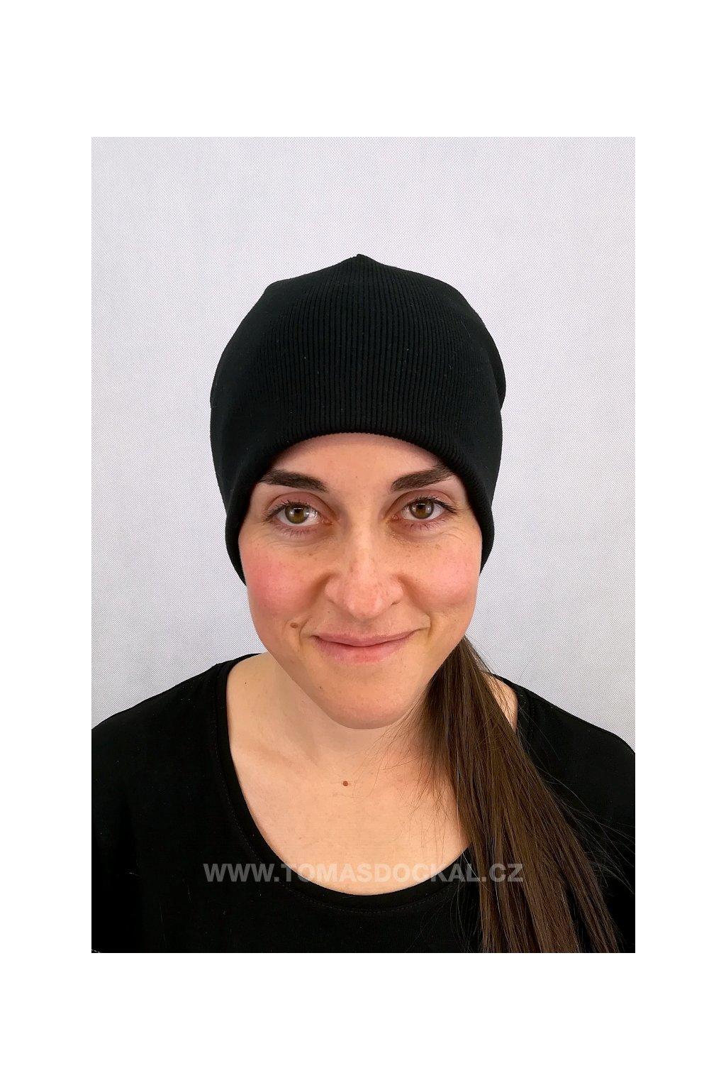 Čepice Hat III Černá