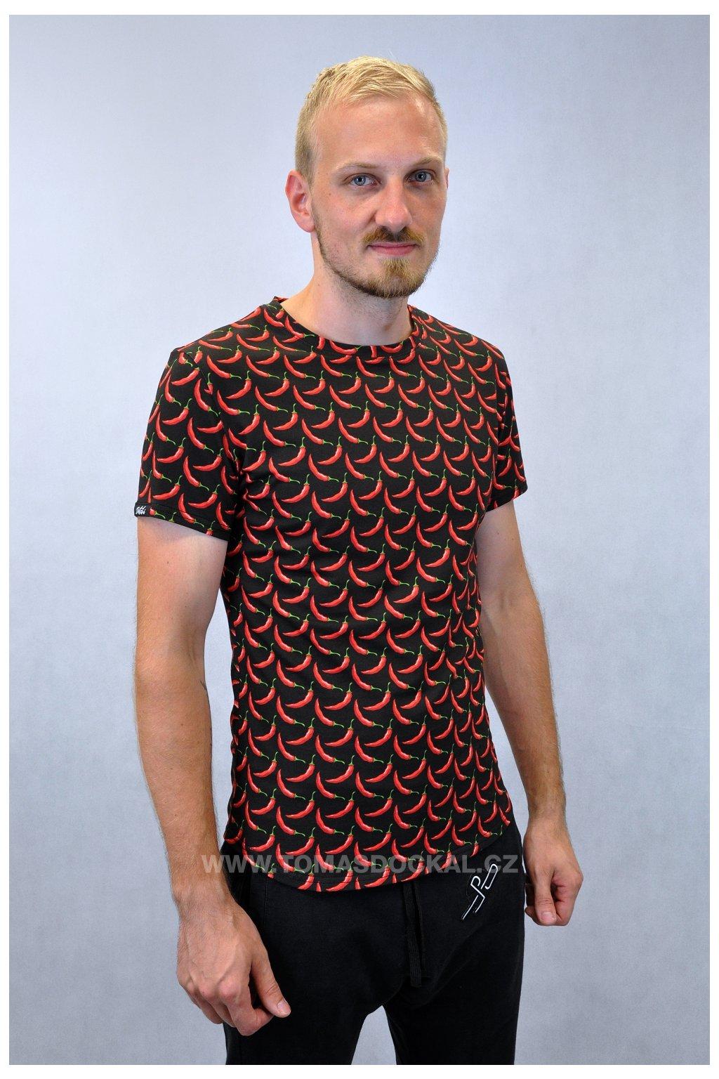 Tričko Chilli Papričky / velikost M