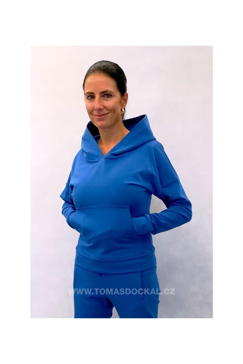 Mikina Multicolor / modrá