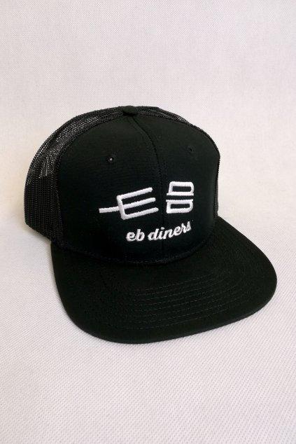 Kšiltovka EB diners No.2 / černá s bílým logem