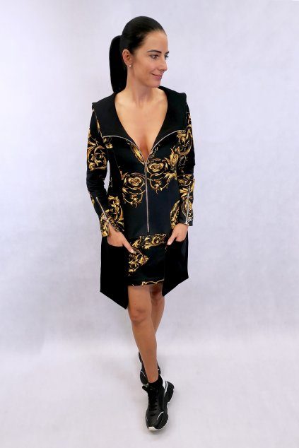 šaty z látky versace