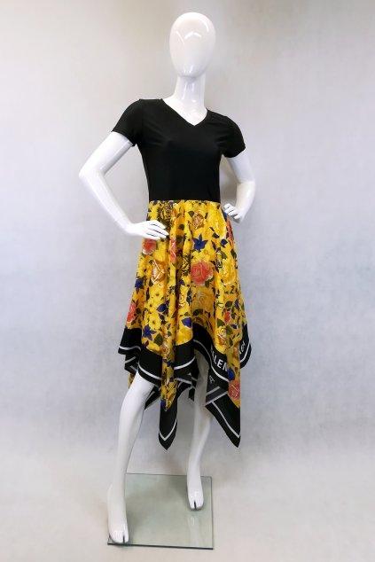 Šaty z materiálu od značky Balenciaga