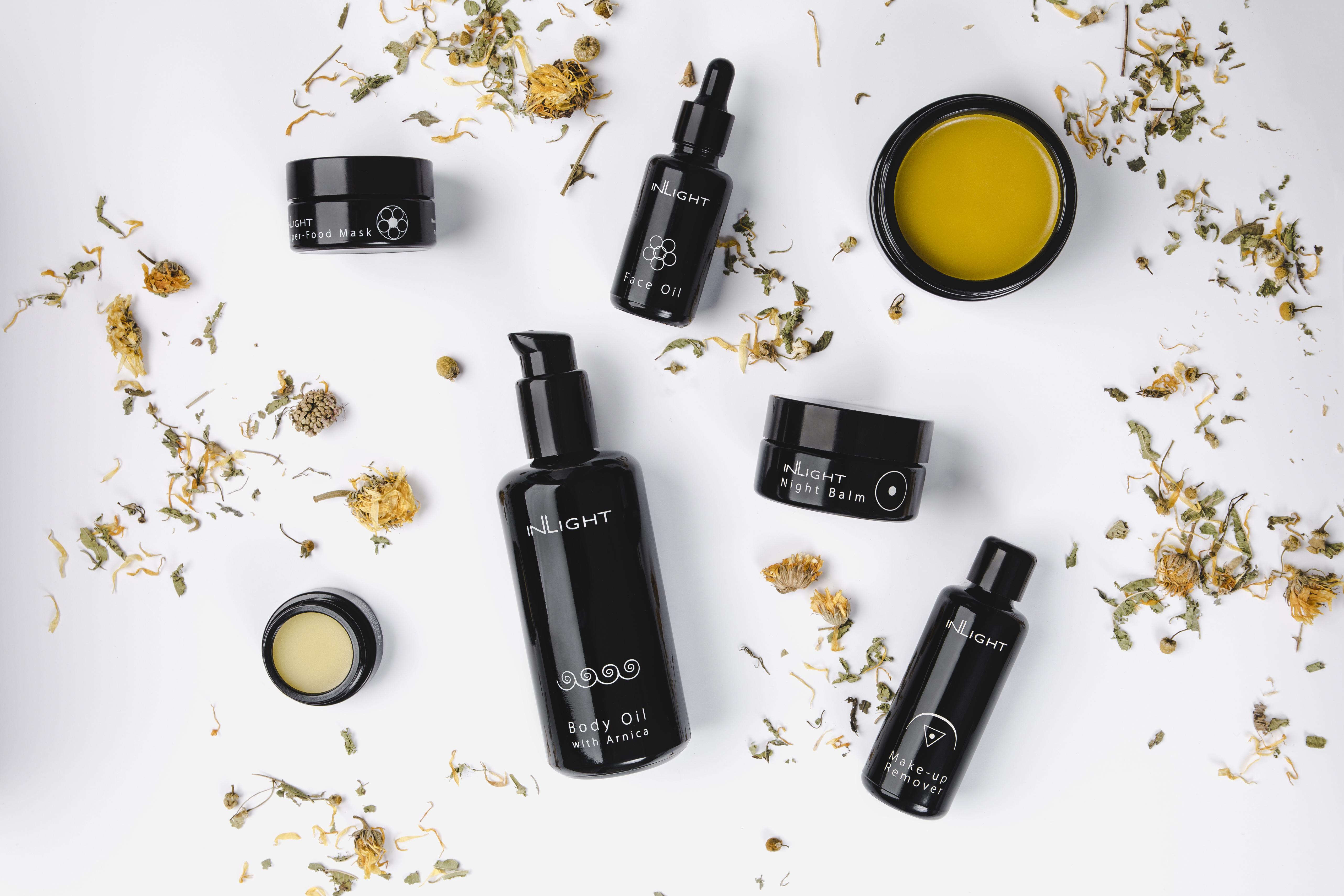 Inlight: Poznejte 100% bio kosmetiku z bylin a rostlinných olejů