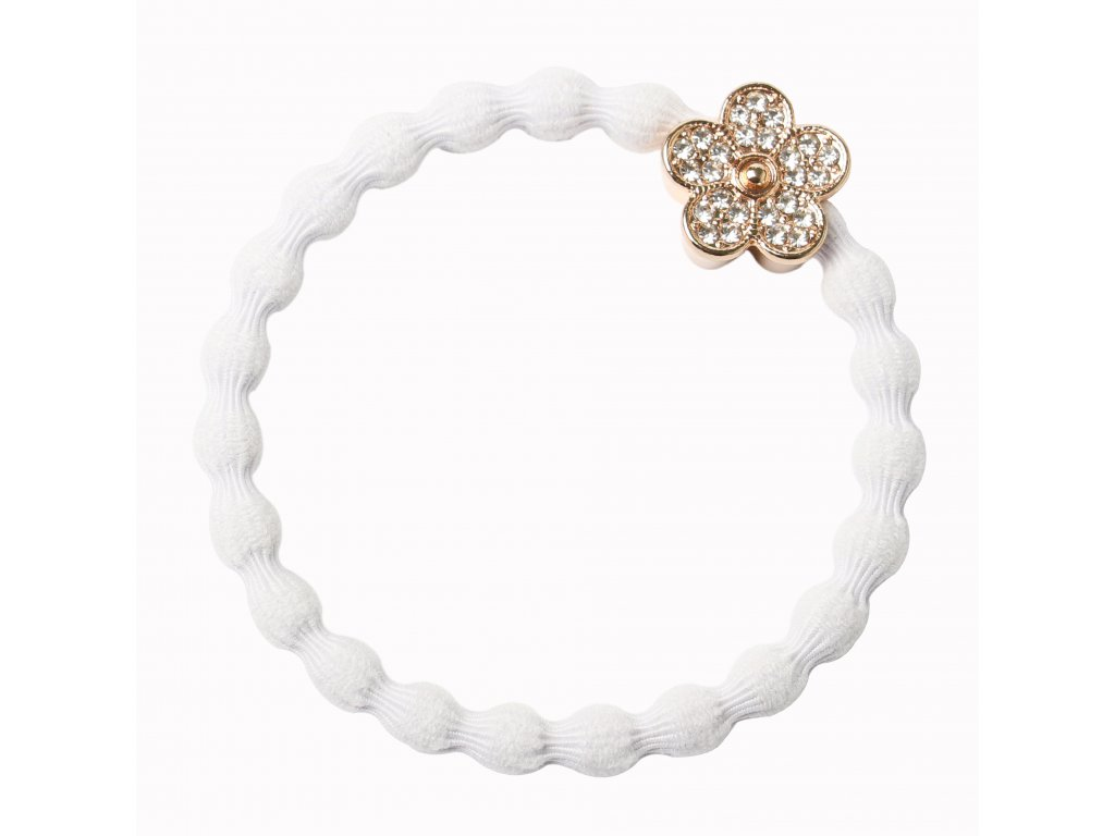 Bling Daisy Flower White HR