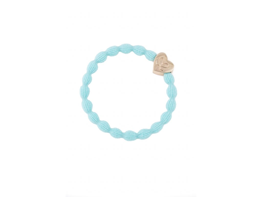 Girlie GOLD heart Turquoise HR apr 18th 013