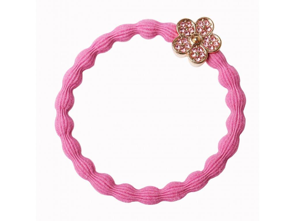Bling Daisy Flower Rose Pink HR (1)