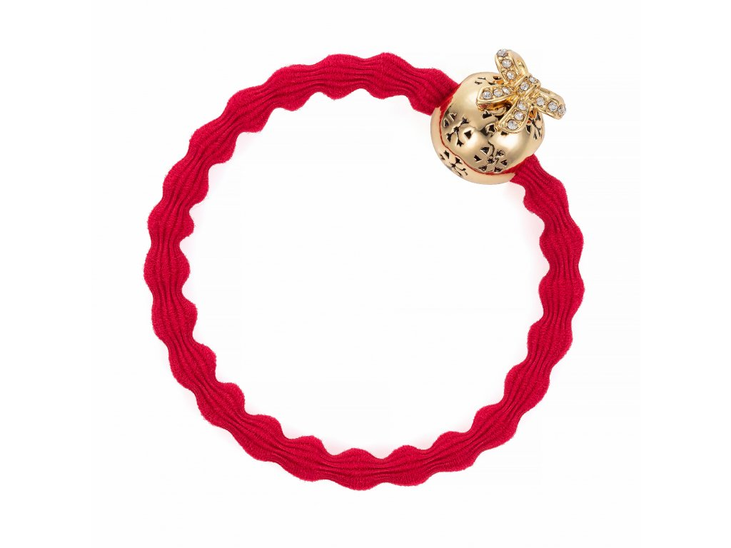 Christmas Bauble Cherry Red