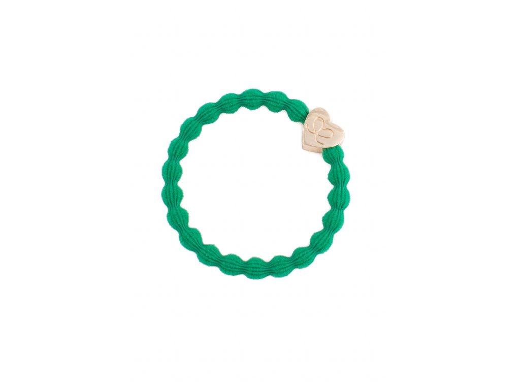 Happy colour GOLD heart Emerald green HR 14 apr 063