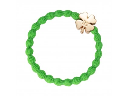 Gold Clover Apple Green