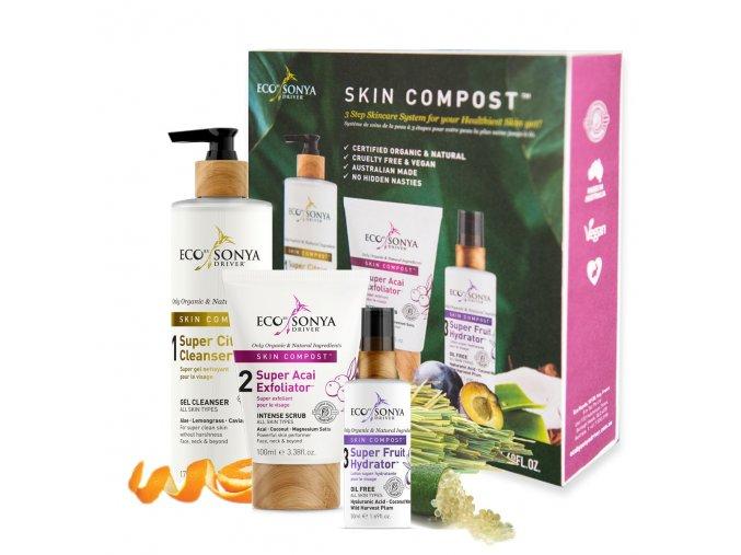 Skin Compost 3 pack