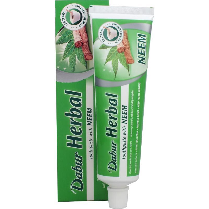 nimbový zubní pasta