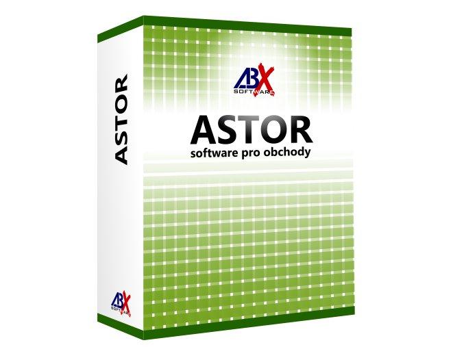 ABX Astor PRO pokladní skladový software pro obchody