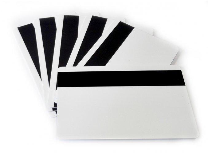 Magnetická karta bez potisku