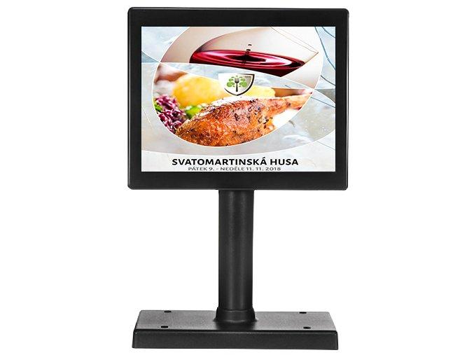 LCD zákaznický displey