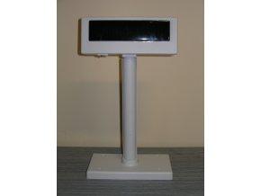 X-touch  VFDLD220 2x20 USB bílý s nohou, zákaznický displej