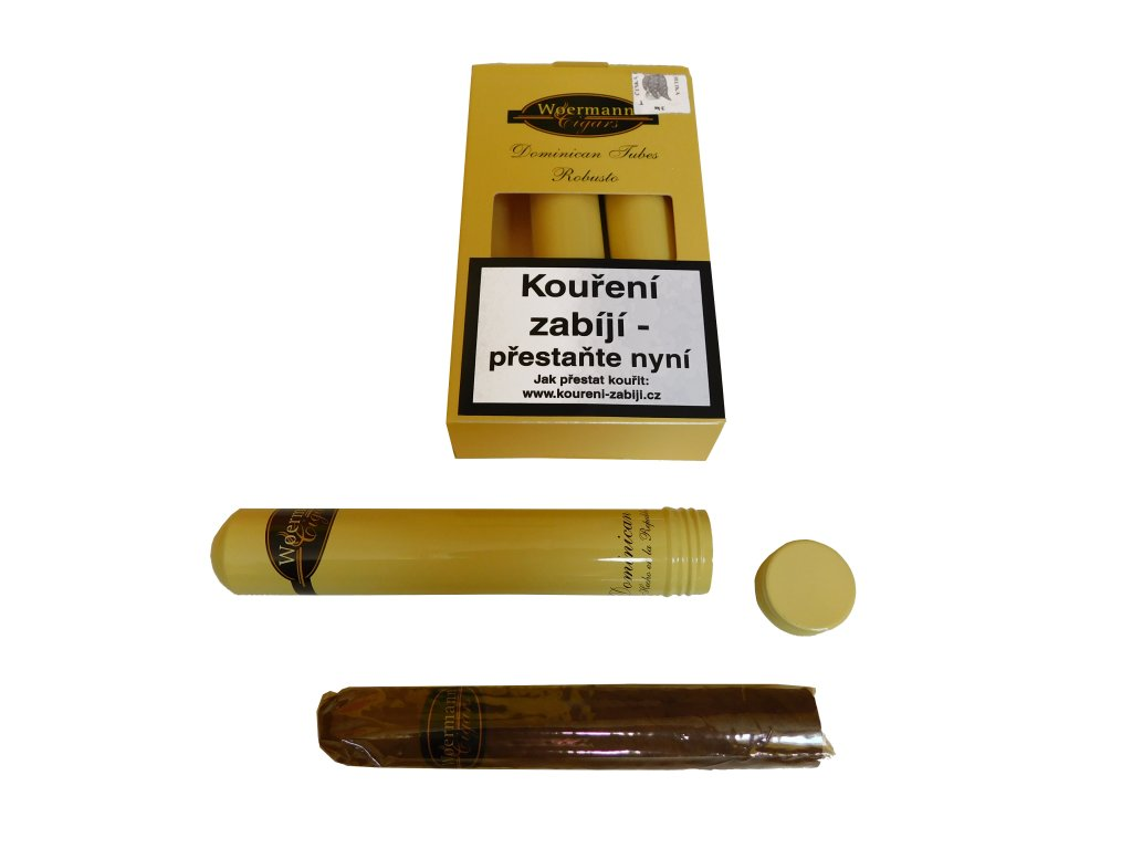 Woermann Dominican Tubes Robusto A/T