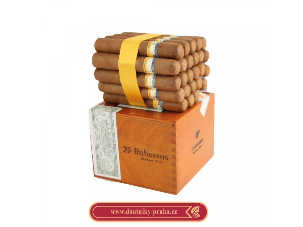Cohiba Robustos 25 ks pcs