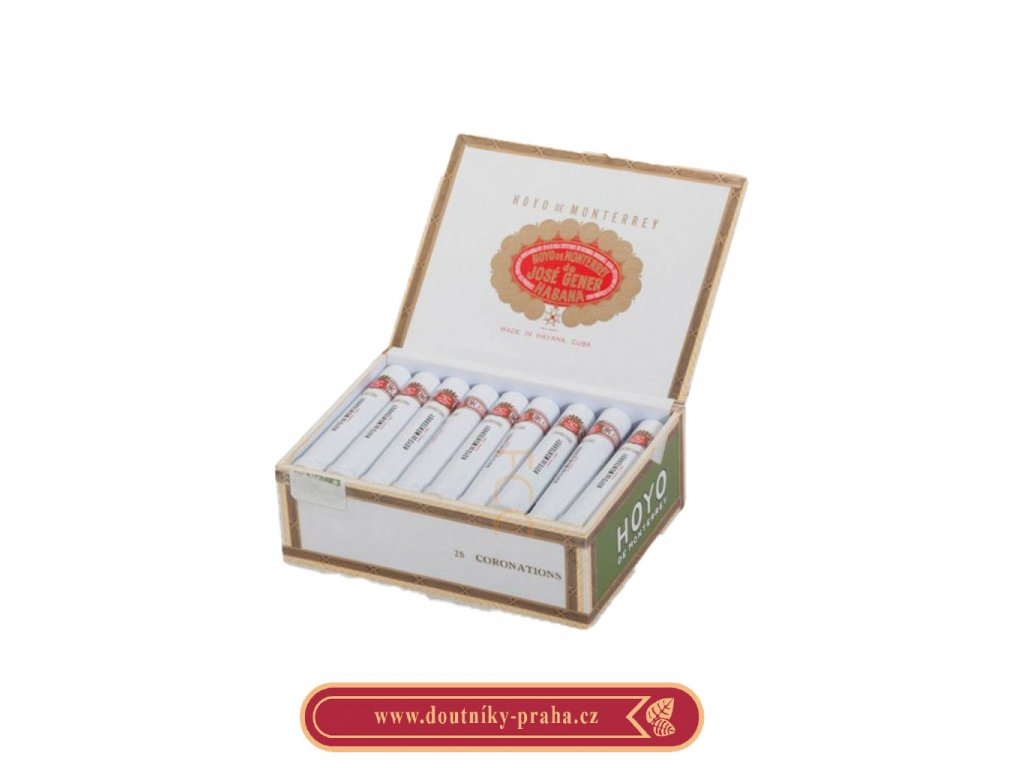 Hoyo de Monterrey coronations 25 AT ks pcs