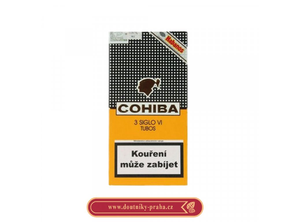 Cohiba siglo vi 3 ks pcs AT Tubos