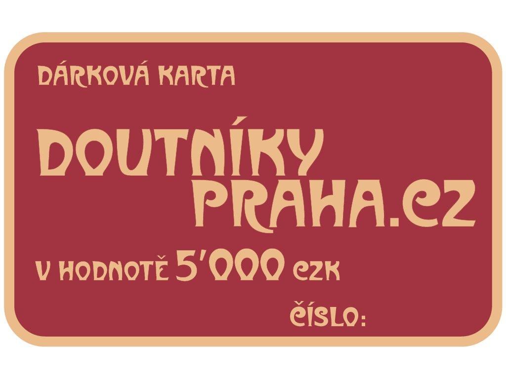 Darkove Karty 5000