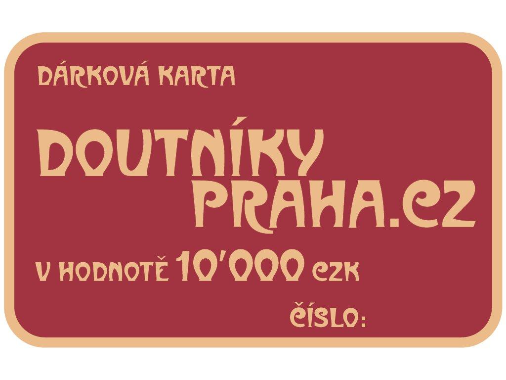 Darkove Karty 10000 CZK