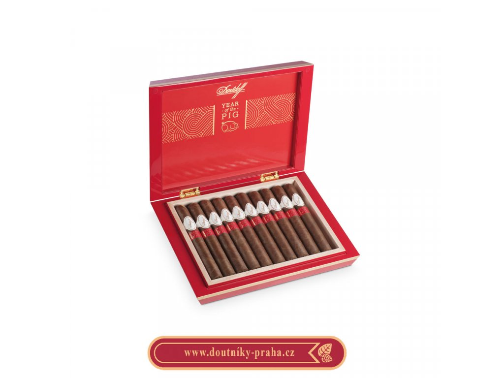 Davidoff Year of the pig LE 2019 10 ks pcs 1