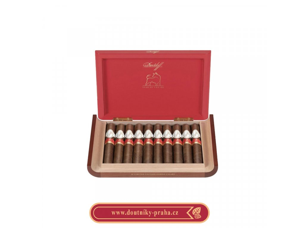 Davidoff Year of the OX LE 2021 10 ks pcs