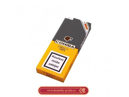 Cohiba siglo v 3 ks pcs AT Tubos