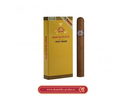 Montecristo Double Edmundo 3 ks pcs