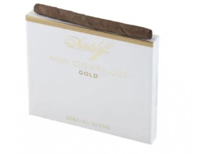 Davidoff Mini Cigarillos Gold - 10 ks