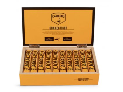 Camacho Connecticut Robusto Tubos - 10 ks