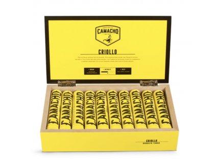 Camacho Criollo Robusto Tubos - 10 ks