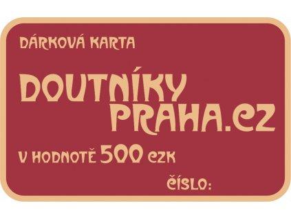 Darkove Karty 500 CZK