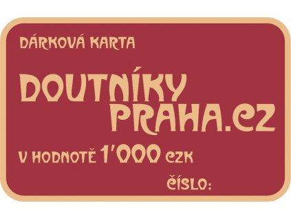 Darkove Karty 1000 CZK