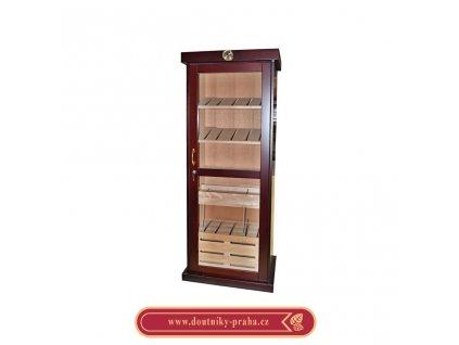 Humidor na doutníky Angelo Cabinet skříňový třešeň