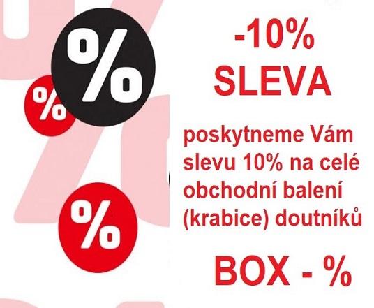 Poskytujeme slevu 10 % na celé obchodní balení doutníků