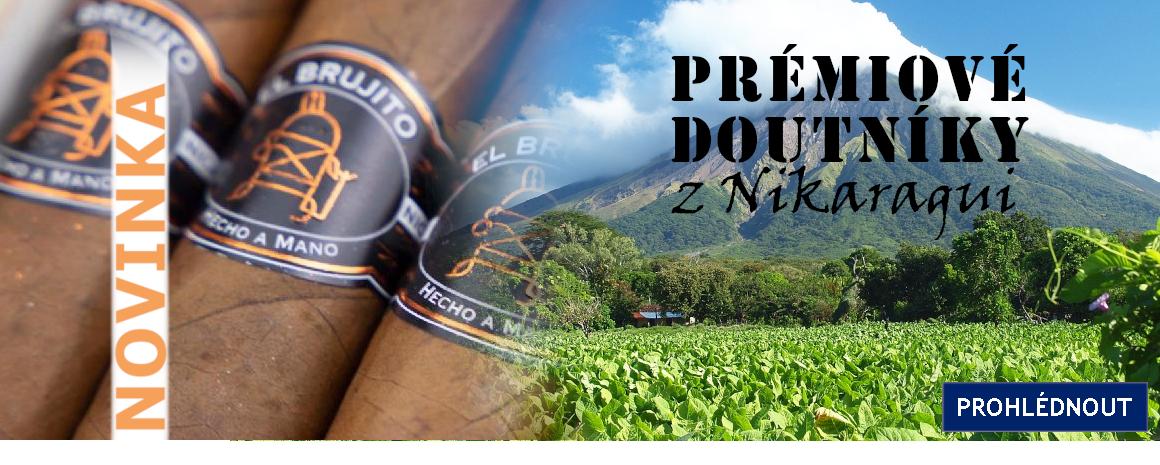 Prémiové doutníky El Brujito se vyrábějí tradičním ručním způsobem v nikaragujské továrně Tabacalera Alfambra.