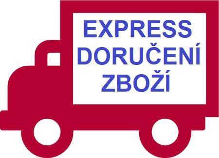 Express doručení zboží naší vlastní dopravou - naše služba pro Vaše pohodlí