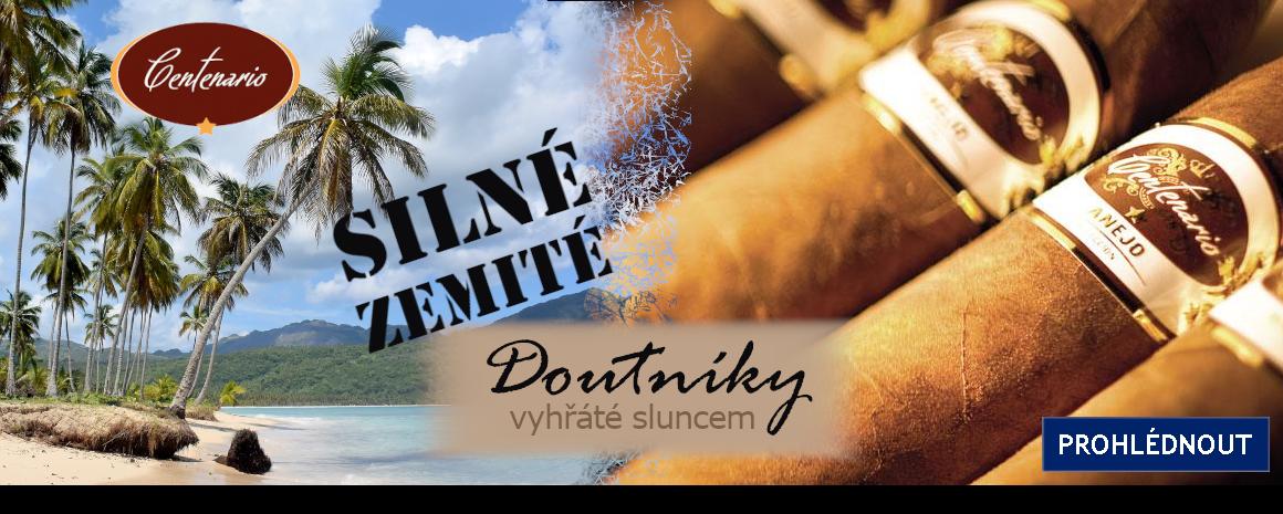 Dominikánská republika - země výroby doutníků Centenario Anejo. Doutníky s výraznou chutí a vůní.