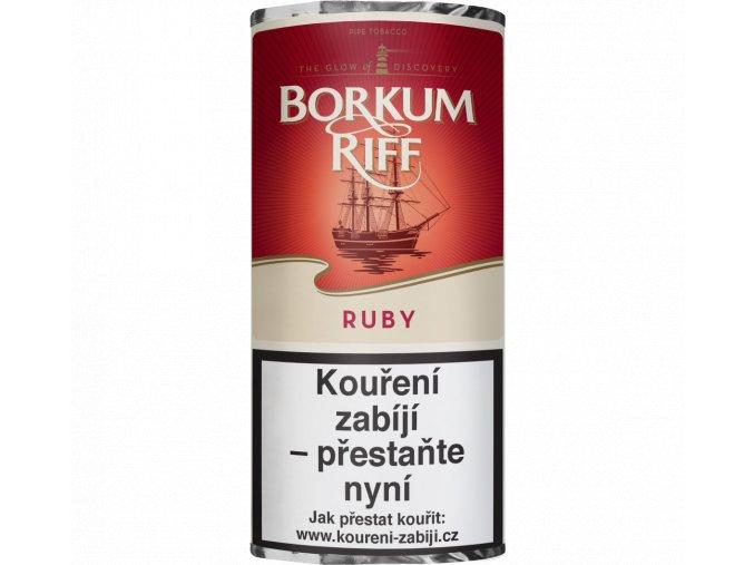 dýmkový tabák borkum riff ruby cherry