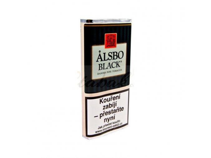 dýmkový tabák alsbo black 50g